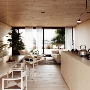 Projekt wnętrza. Projekt: Domy z Głową, Pracownia Architektury Głowacki