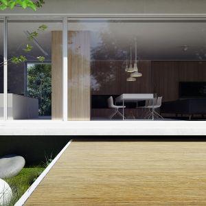 Atutem domu są duże przeszklenia. Dom Pod Lasem. Projekt: Anna Porębska, Adam Zwierzyński, MUS Architects
