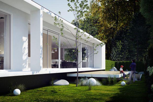 Tenkomfortowy, przestrzenny, otwarty na ogród iwidoki dom znajduje się na przedmieściach Gliwic. Zaprojektowali go Adam Zwierzyński i Anna Porębska z pracowni MUS Architects.