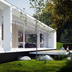 Dom Pod Lasem. Projekt: Anna Porębska, Adam Zwierzyński, MUS Architects