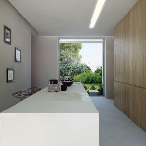Dom Pod Lasem.Projekt wnętrza. Projekt: Anna Porębska, Adam Zwierzyński, MUS Architects