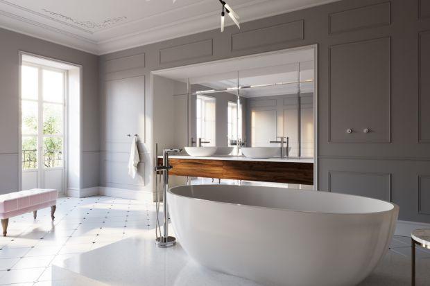 Pięknym uzupełnienie wolnostojącej wanny w ekskluzywnym salonem kąpielowym jest bateria. Jaki mode wybrać? Zobaczcie kilka propozycji.