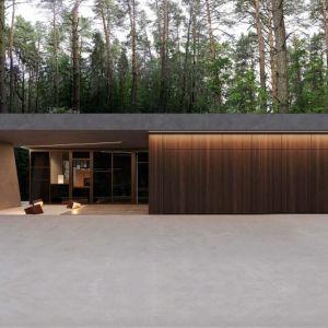 Projekt opracowano z myślą o dojrzałych inwestorach poszukujących bezpiecznego domu na kolejne, spokojne lata. Projekt: Marcin Tomaszewski, pracownia REFORM Architekt