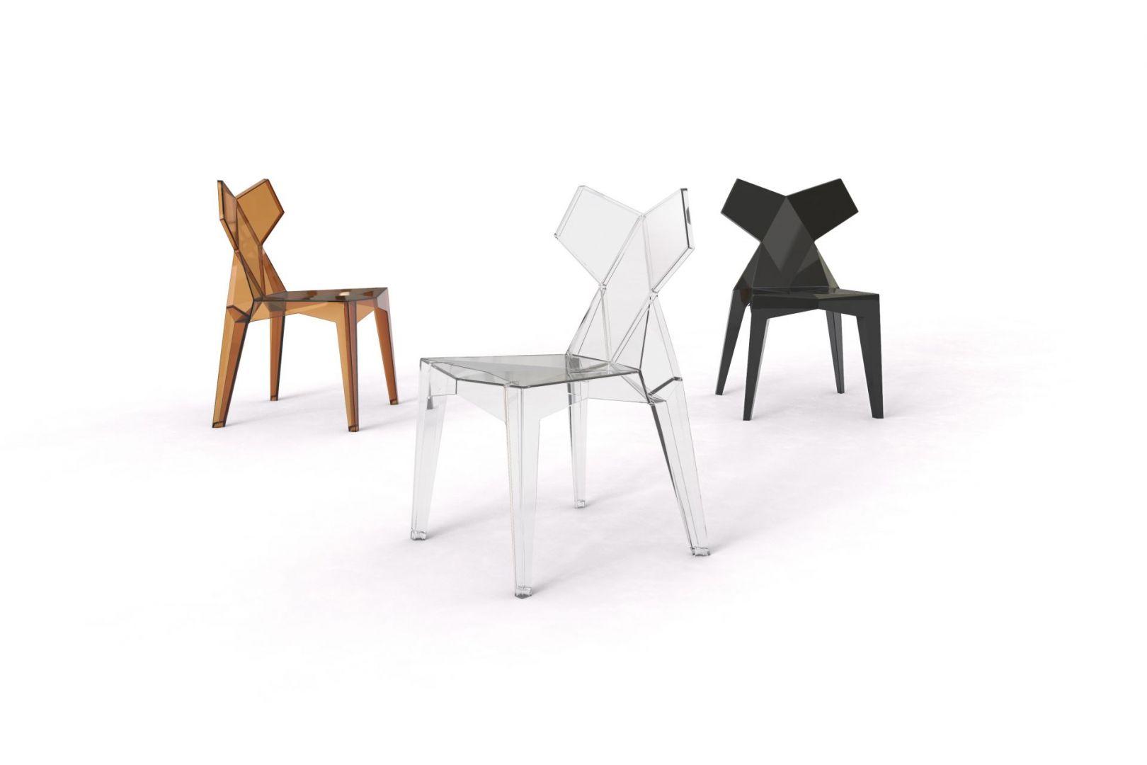 Krzesło Kimono, projekt Ramon Esteve dla marki Vondom. Fot. Vondom
