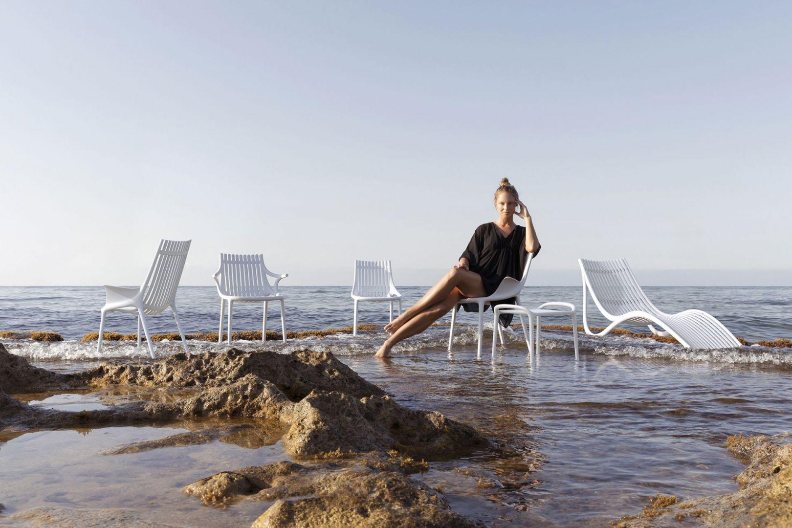 Kolekcja krzeseł Ibiza. Projekt Eugeni Quitllet dla marki Vondom. Fot. Vondom