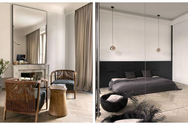 Luxury minimalism staje się coraz bardziej popularny. To remedium dla wszystkich zmęczonych nadmiarem bodźców, niepotrzebnych przedmiotów, bezmyślną konsumpcją. Właśnie w tym duchu zaprojektowano na warszawskim Żoliborzu kawalerkę dla miło�