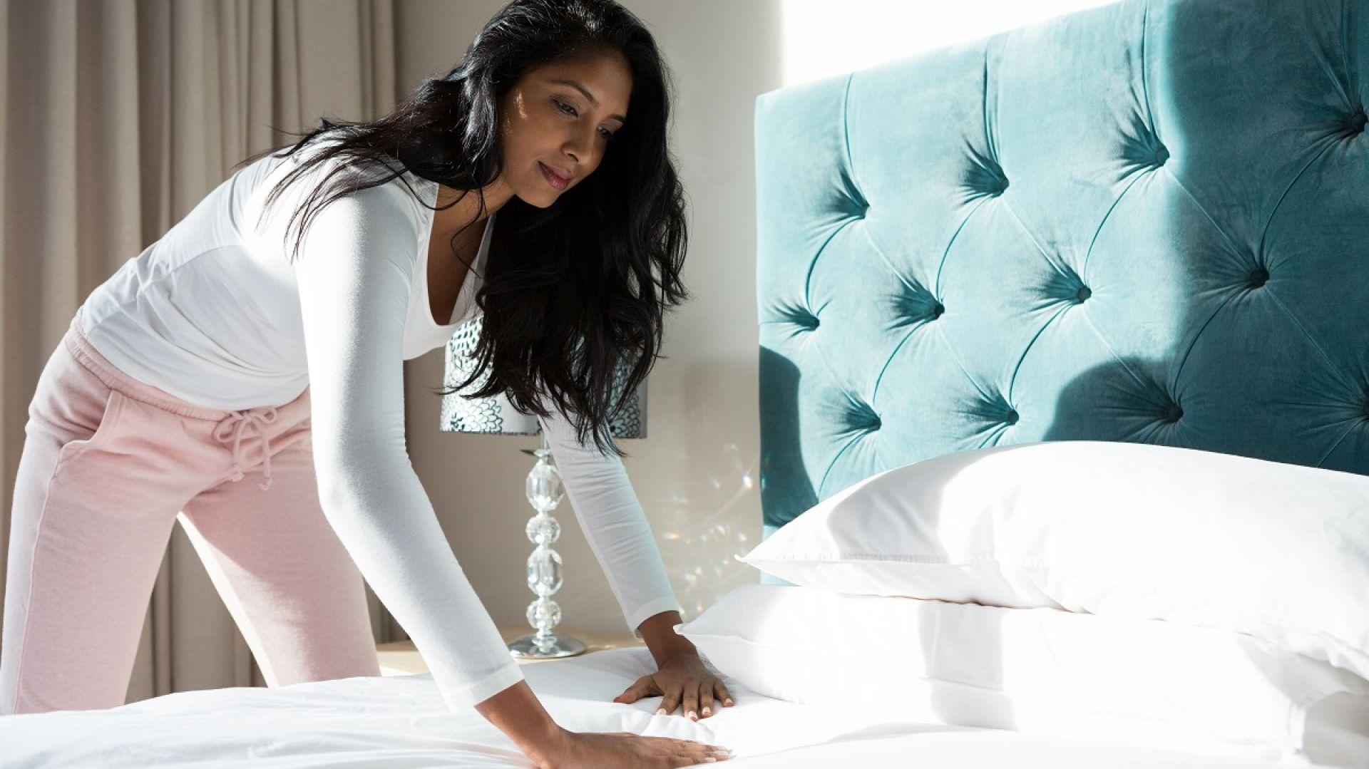 łóżka kontynentalne to meble, które świetnie sprawdzą się przede wszystkim w klasycznych aranżacjach. Fot. 123rf