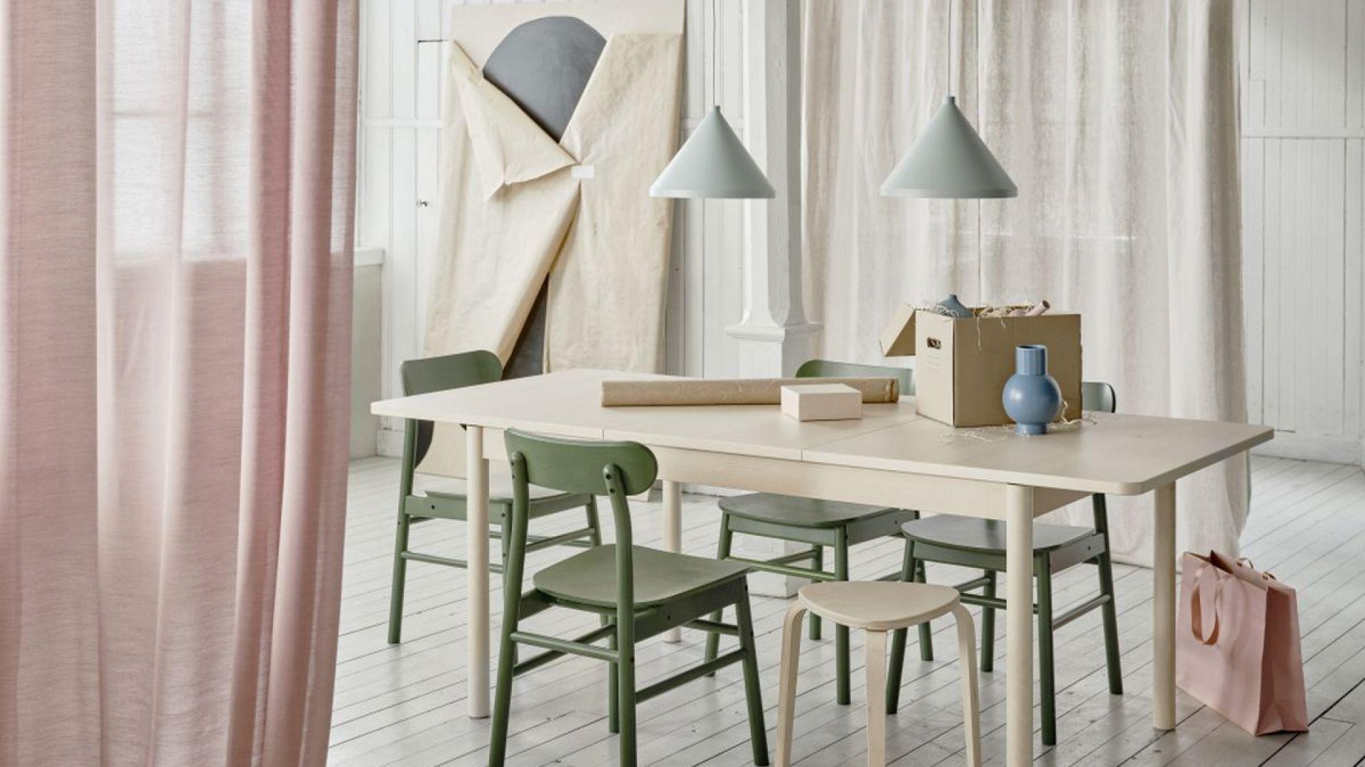 Stół rozkładany RÖNNINGE. Cena: 999 zł. Fot. Ikea