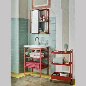 Zestaw mebli łazienkowych ENHET/TVÄLLEN, 9 elementów Cena: 982 zł. Fot. Ikea