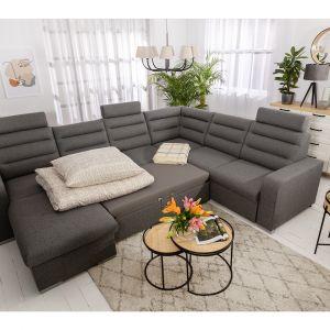 Modułowa sofa Amarante. 1699 - sofa modułowa 2F, 1499 - sofa modułowa 2BK. Fot. Black Red White