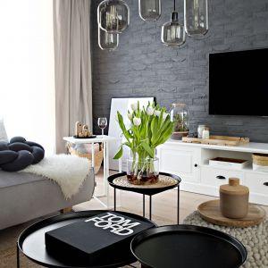 Pokój dzienny. Projekt wnętrza: SHOKO design