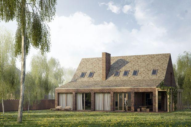 Projekt domu z werandą powstał dla młodej pary z dwójką dzieci.Architekci z biuraGgrupa zadbali, aby czteroosobowa rodzina miała tu wszystko o czym marzyła.