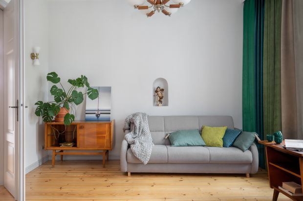 Ten apartament w zabytkowej kamienicy w centrum Sopotu, powstał z sentymentu i chęci spełniania marzeń, nie tylko własnych, ale całej rodziny.