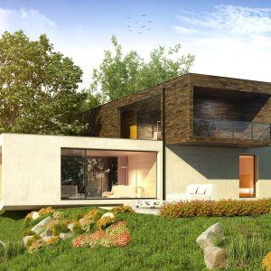 Płaski dach daje dużo możliwości aranżacyjne. Fot. Galeco