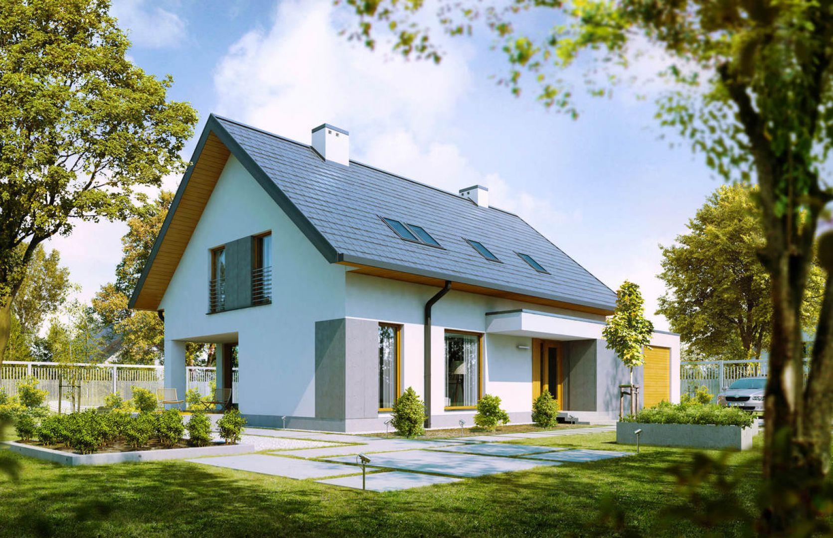 Wśród najpopularniejszych pokryć dachowych wymienić trzeba dachówkę ceramiczną oraz blachodachówkę. Ta ostatnia jest jednym z bardziej poszukiwanych materiałów pokryciowych na polskim rynku zarówno przez inwestorów, jak i dekarzy. Fot. galeco