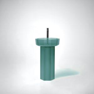 Umywalka na postumencie Opale. Fot. Antonio Lupi/Mood Design