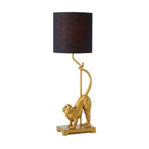 Stołowa lampa z abażurem Mono - piękny akcent wnętrza w stylu klasycznym, ale także dobry pomysł na dodanie charakteru nowoczesnej aranżacji. 289 zł, Dekoracja Domu, www.dekoracjadomu.pl