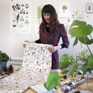 Saga-Mariah Sandberg (ur. 1983) to szwedzka artystka i ilustratorka czerpiąca inspirację z otaczającej nas przyrody. Fot. Photowall