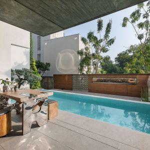 Jeden z wielu basenów. Projekt: NA Architects. Zdjęcia: Boca do Lobo