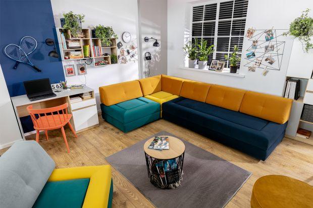 Prezentujemy pięć kolorowych kanap, które według nas, sprawdzą się w każdym salonie.