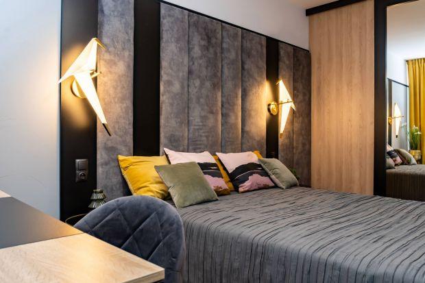 Farba czy tapeta? W jasnymlub w ciemnym kolorze? Podpowiadam jak pięknie wykończyć ścianę za łóżkiem w sypialni.