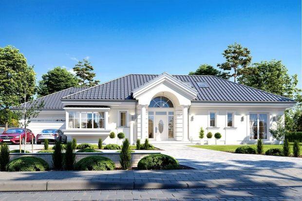 Piękny dom o stylowej i ponadczasowej architekturze. Energooszczędny iz wygodnym, nowoczesnym wnętrzem.