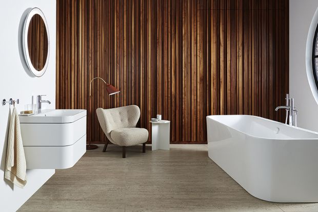 Designerskie umywalki podkreślą wygląd łazienki. W zestawie z szafką zapewnią dodatkowe miejsce do przechowywania.