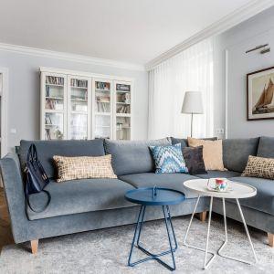 Mieszkanie ma powierzchnię 68 metrów kwadratowych. Zostało zaprojektowane dla dwuosobowej rodziny z czworonogiem. Projekt: Magdalena Bielicka, Maria Zrzelska-Pawlak. Fot. Fotomohito