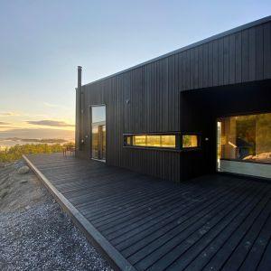Dom w Norwegii. Projekt: Bjørnådal Arkitektstudio. Fot. Hans-Petter Bjørnådal