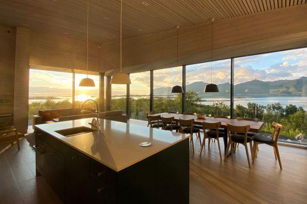 Piękny dom w Norwegii: projekt w zgodzie z naturą