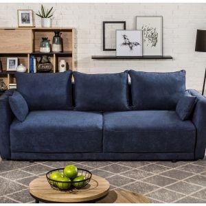 Trzyosobowa, rozkładana sofa Andora dostępne w ofercie Agata Meble. Fot. Agata Meble