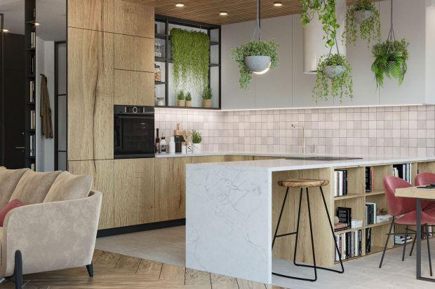 Wnętrze pozytywnie nastrajające do życia, pełne kolorów, żywych roślin, dobrego stylu i elegancji z loftowym twistem - takie zadanie postawiła przed projektantką Agnieszką Rozmysłowicz z pracowni Viann Interior Design inwestorka z Krakowa. Zoba