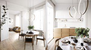 Piękne mieszkanie w kamienicy: 80-metrowe wnętrze z Wrocławia