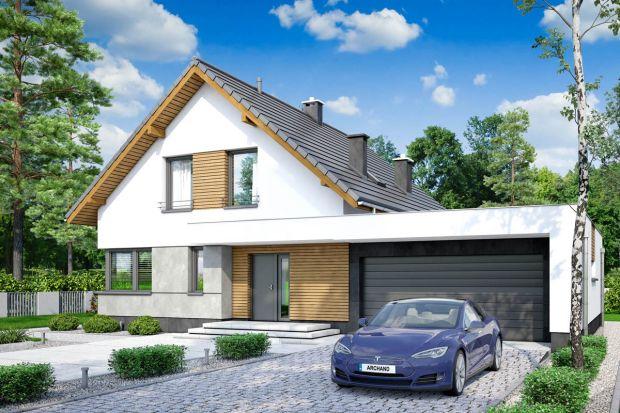 Projekt bardzo wygodnego, niedużego domu z poddaszem użytkowym. Jego prosta bryła ułatwi budowę, a zastosowane rozwiązania energooszczędne, zapewnią niskie koszty przyszłej eksploatacji.