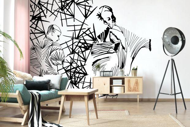 Jak zaaranżować ścianę w salonie? Dzisiaj polecamy 15 modnych aranżacji z tapetami - to prosty i niedrogi sposób, aby odmienić swój pokój dzienny! Zobaczcie te pomysły!