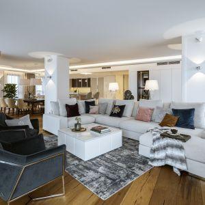 Styl nowojorski często jest określany mianem eleganckiej przytulności. Projekt HOLA Design