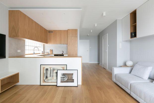 Małe mieszkanie dla pary z dzieckiem: projekt z Krakowa