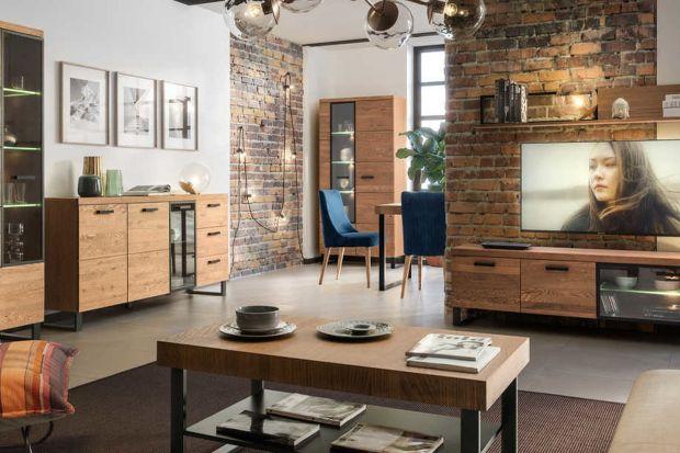 Nowoczesny salon: 12 dobrych pomysłów na ściankę telewizyjną + ceny mebli