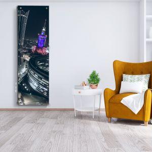 Model Portal pełni funkcję lustra, Niagara z grafiką wygląda jak obraz! Grzejnik z grafiką Luxrad.