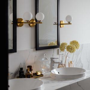 Aby zachować funkcjonalność przestrzeni, należy dostosować wyposażenie łazienki do liczby i zwyczajów domowników. Ula w swojej łazience postawiła na wygodę. Na zdj. łazienka Uli Michalak