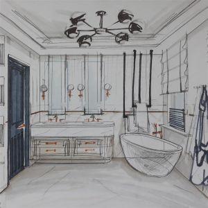 Projekt łazienki Uli Michalak