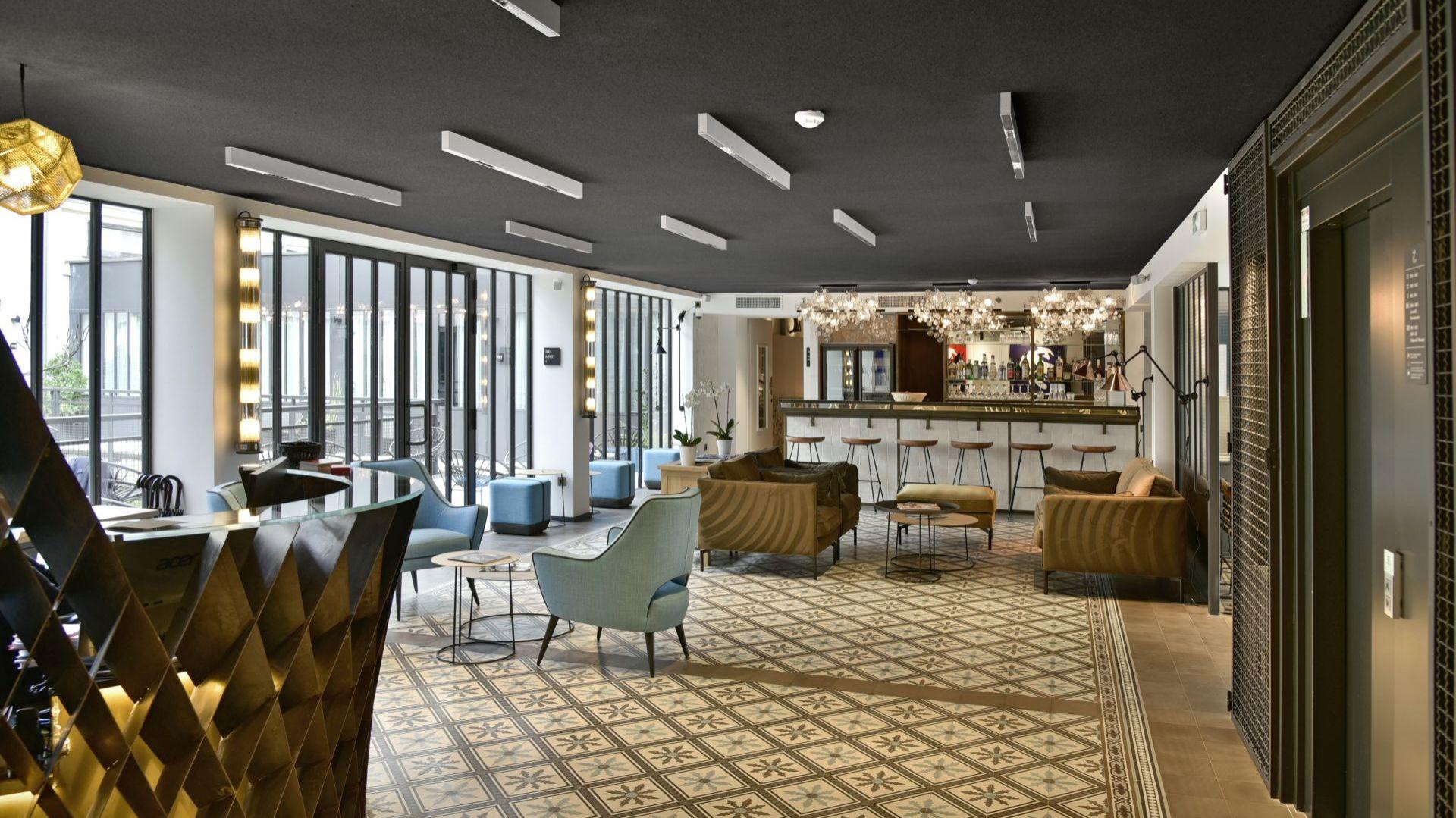 Hotel des deux Girafes i restauracja Bellay, Paryż. Fot.  mat. prasowe Rockfon