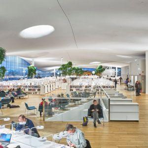 Biblioteka Oodi, Helsinki. Fot.  mat. prasowe Rockfon
