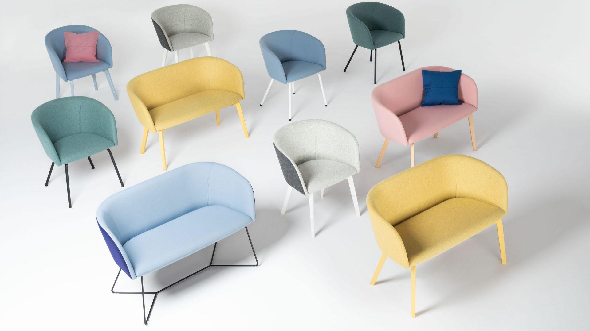 Naudu to nowa kolekcja marki Nowy Styl, dedykowane przestrzeniom biurowym i home office. Fot. Nowy Styl