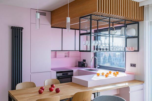 Nowoczesne wnętrze w kobiecym stylu to propozycja od Biura Architektonicznego Piotr Kosydar. O projekcie z Krakowa, pełnym niekonwencjonalnych rozwiązańmówią sami autorzy projektu.