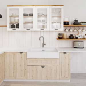 Gąbka, woda i płyn do mycia naczyń z powodzeniem wystarczą, by wyczyścić tego rodzaju zlewozmywak. Fot. Blanco/Comitor