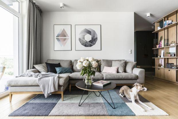 Szara sofa to królowa salonowych aranżacji. Pasuje do małych, jak i dużych wnętrz. Zobaczcie jak prezentuje się w polskich domach i mieszkaniach.