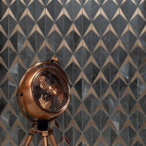 Mozaika Brainstorm Graphite (32,1 x 19,6 cm, 49,94 zł za sztukę). Fot. Tubądzin