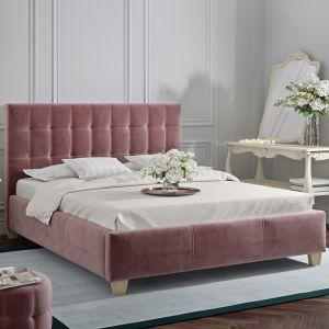 Łóżko tapicerowane Dolores marki Comforteo. Fot. Comforteo