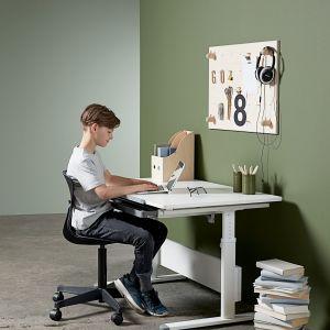 Dużo ergonomicznych biurek i foteli rodzice znajdą w ofercie duńskiej marki Flexa, wielokrotnie nagradzanej za wyjątkowy design. Fot. Bonami.pl